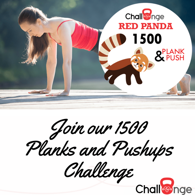 Plank and Push Fitness Challenges